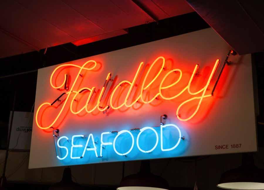 Faidley Neon SIgn